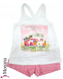 Mayoral child fashion set t-shirt & shorts Enjoy the little things