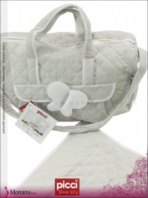 Picci changing bag gray Ballon white*** <b>Ready for delivery