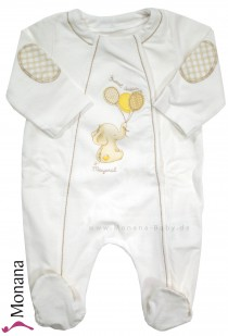 Mayoral baby pyjama white