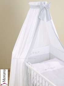 Leipold veil for cot bed in Charme
