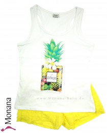 Mayoral child fashion set t-shirt & shorts Citrus