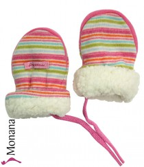 Maximo Baby-Fausthandschuhe rosa<br>Größe: 6 Monate