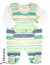 Kanz Baby-Strampler & Shirt Jungle Child<br>Größe: 68