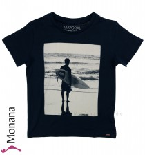 Mayoral t-shirt darkblue Surfer
