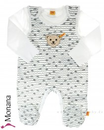 Steiff Collection Baby-Strampler & Baby-Shirt Summer Colors<br>Größe: 56, 62, 68, 74