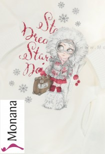 Mayoral Kindermode-Set Sweatshirt & Leggings Wintergirl<br>Größe: 98, 104, 110, 116, 122, 128, 134