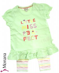Kanz baby set dress & leggings Very funny Girls