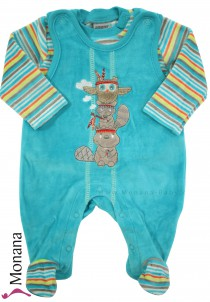 Jacky baby romper & baby shirt Indian Forest