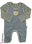 Steiff Collection Baby-Strampler & Baby-Shirt Be my No 1<br>Größe: 50, 56, 62, 68, 74, 80, 86