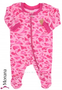 Schiesser sleeping suit hearts
