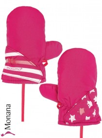 Maximo Thermo-Fausthandschuhe pink