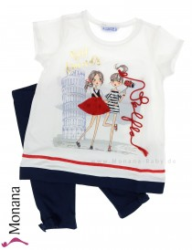 Mayoral child fashion set t-shirt & leggings Pisa