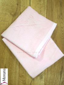 Leipold baby blanket pink dimensions: 29,5 x 39,4 inch (ca. 75 x 100 cm) <b>Ready for delivery