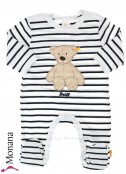 Steiff Collection Overall Teddy Bear<br>Größe: 50, 56, 62, 68, 74, 80, 86