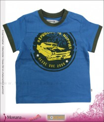 Noppies T-Shirt Alanzo mid blue<br>Größe: 80, 92