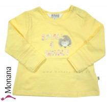 Kanz shirt Small & Giggly yellow