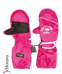 Maximo Thermo-Fausthandschuhe pink mit langer Stulpe<br>Größe: 2, 3, 4, 5