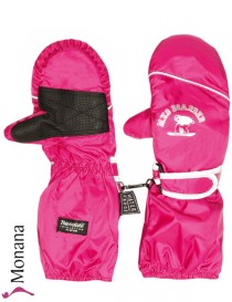 Maximo Thermo-Fausthandschuhe pink with long Stulpe