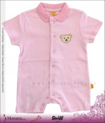 Steiff Collection Polo-Spieler Summer Colours rosa<br>Größe: 68