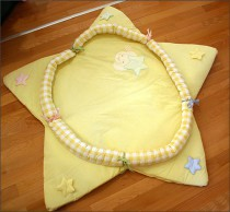 Picci play mat Bella yellow*** <b>Ready for delivery