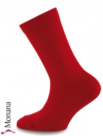 Ewers socks carmine red