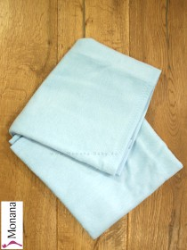 Leipold baby blanket blue dimensions: 29,5 x 39,4 inch (ca. 75 x 100 cm) <b>Ready for delivery