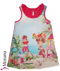 Mayoral Sommerkleid Tropical Girls<br>Größe: 104