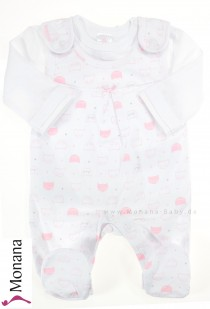 Kanz Baby-Strampler & Shirt Little Cat<br>Größe: 68