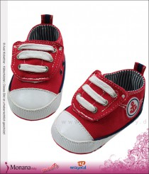 Mayoral baby shoes red