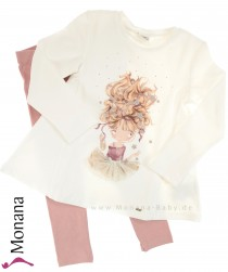 Mayoral Kindermode-Set Shirt & Leggings Ballerina<br>Größe: 104, 122, 128