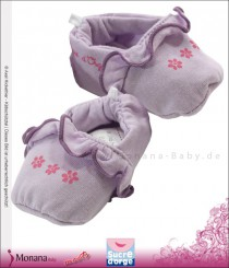 Sucre d´orge baby shoes purple