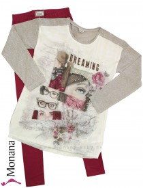 Mayoral Kindermode-Set Shirt & Leggings Dreaming<br>Größe: 152, 164