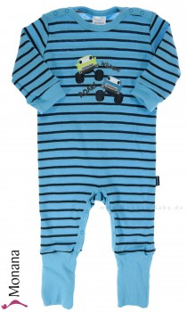 Schiesser sleeping suit variofoot Monster Trucks