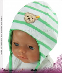 Steiff Collection Babymütze grün Water Colours<br>Größe: 37