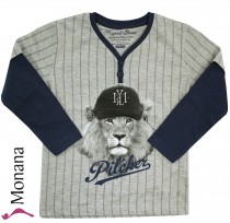 Mayoral Shirt Baseball-Lion<br>Größe: 98, 134