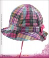 Maximo Sommerhut Karo purple-pink<br>Gr��e: 43, 45, 47