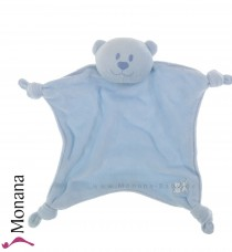 Emile et pink Cuddle cloth Teddy light blue <b>Ready for delivery