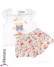 Mayoral child fashion set t-shirt & Hosenrock Im Feenland