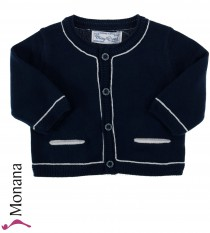 Mayoral knit baby jacket darkblue