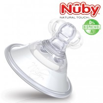 Nuby Natural Touch Softflex-Brusthütchen<br><b>Bisphenol A frei</b>