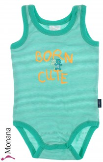 Schiesser baby body without sleeves Born Cute