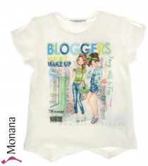 Mayoral T-Shirt Bloggers Best Make Up<br>Größe: 116, 122, 134