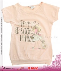 Kanz t-shirt Sweet Lace pink