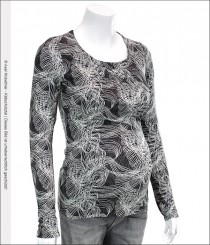 Noppies Umstands-Shirt Fey black print<br>Größe: S, M, L