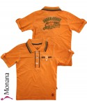 Kanz Polo-Shirt Surf Kids orange<br>Größe: 110