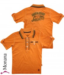 Kanz Polo-Shirt Surf Kids orange<br>Größe: 110, 116