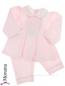 Emile et pink Babyset with shirt & trousers