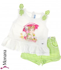 Mayoral child fashion set t-shirt & shorts Am Strand