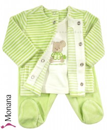 Mayoral two-pieces Nicki-Baby-Set green