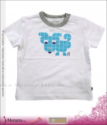 Noppies Baby-T-Shirt Hayden white<br>Größe: 68